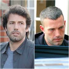 Ben Affleck hair before and after