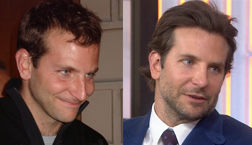 bradley cooper before and after