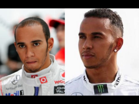 lewis hamilton before and after hair