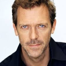 Hugh Laurie hair