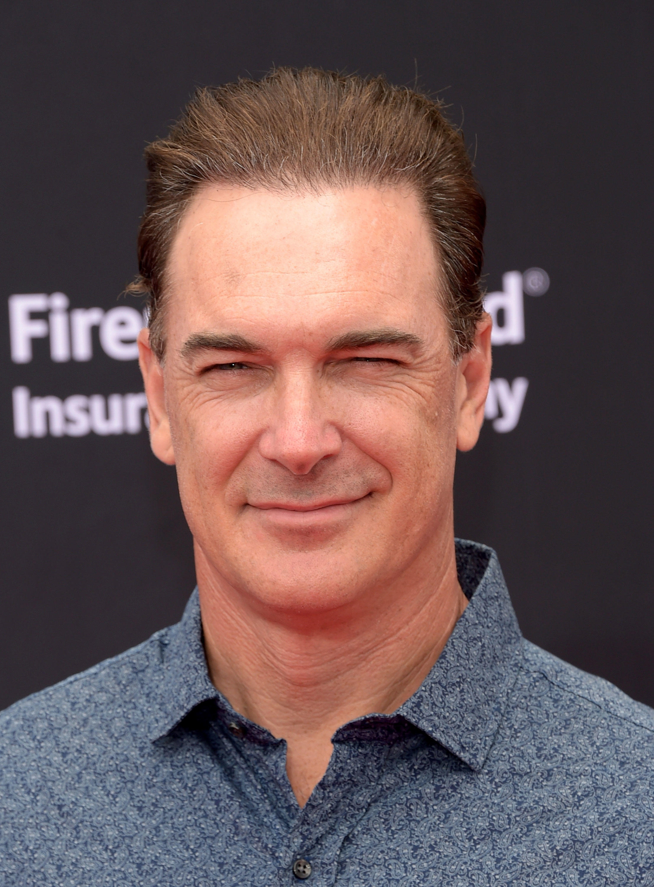 is patrick warburton bald