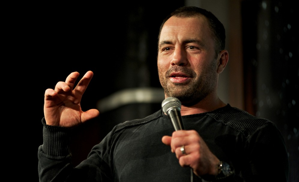 joe rogan with hair