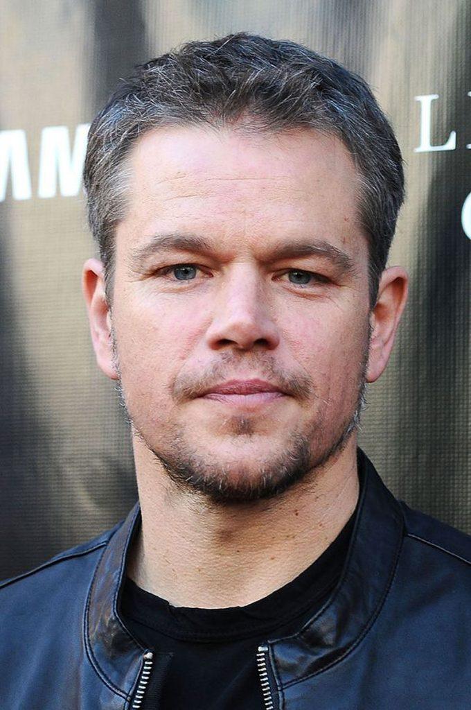 Matt Damon, Bad Breath And Hair Plugs? - Celebrities hair ...