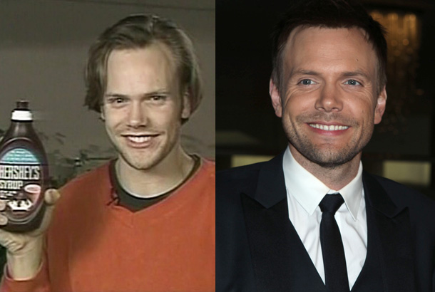 joel mchale hair plugs